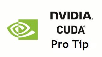 cuda_pro_tip