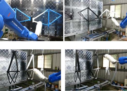 Autonomous Spray Painting Robot