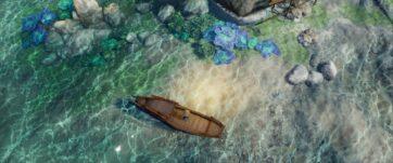 Undersea caustics