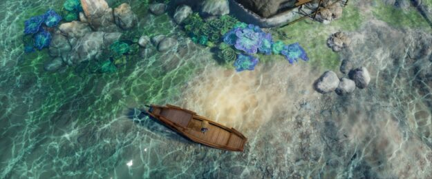 Water caustics in the game of JX3 Online