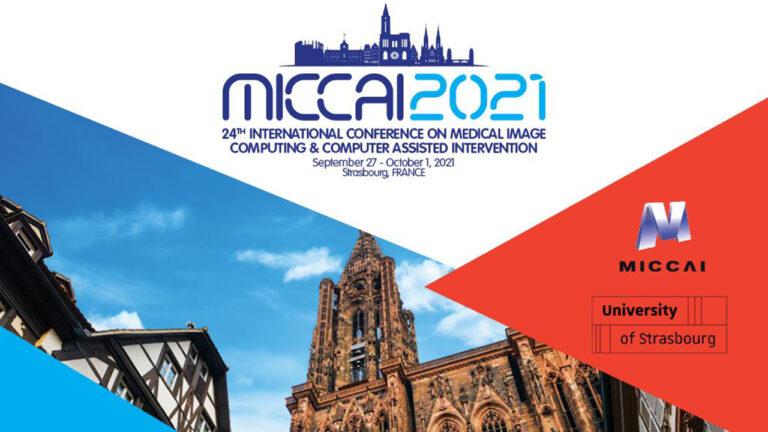 MICCAI 2021 banner.