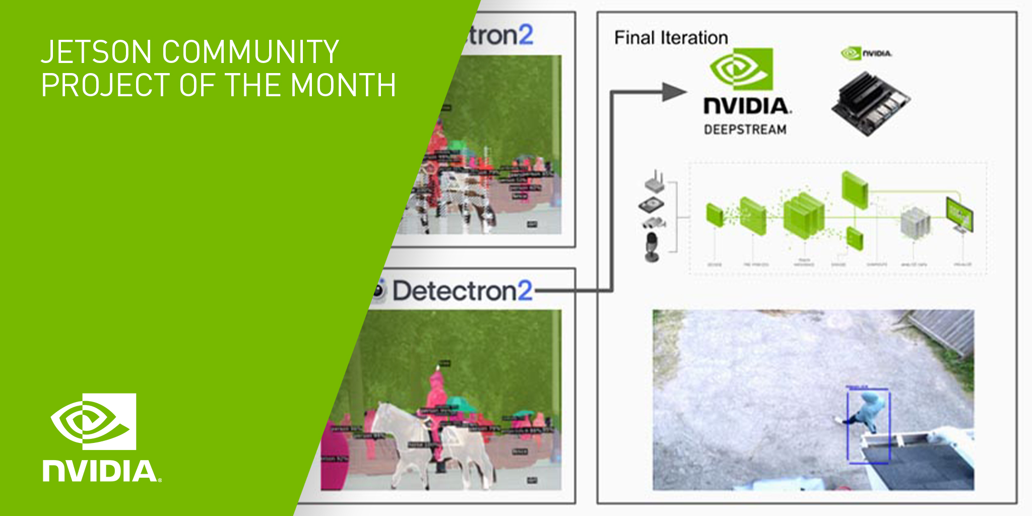 Graphic for Jetson Project of the Month.