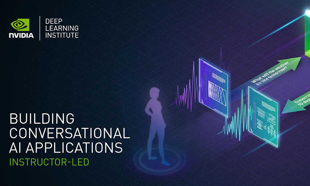 NVIDIA DLI logo with workshop promo text