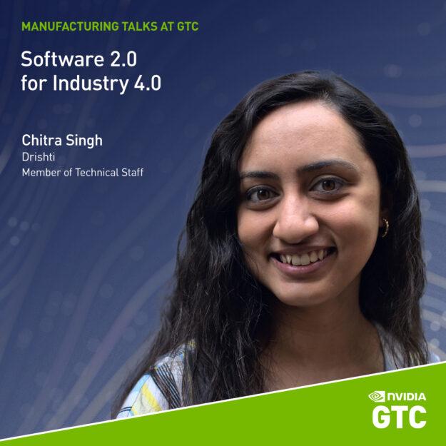 Image of Chitra Singh, technical member from Drishti
